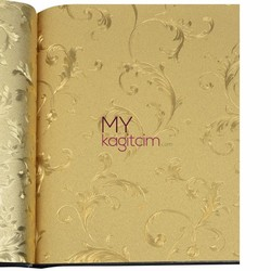 Grown Gold 5m2 - İthal Duvar Kağıdı Gold 66250
