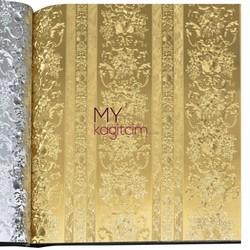 Grown Gold 5m2 - İthal Duvar Kağıdı Gold 90231