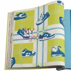 İndirimli Çocuk Duvar Kağıtları - İthal Duvar Kağıdı İndirimli 05632-20