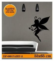 Coart Kadife Çocuk Odası - KADİFE DUVAR STICKER FAIRY-2 55x65 CM