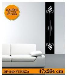 Coart Kadife Large - KADİFE DUVAR STICKER FUERZA 47x264 CM
