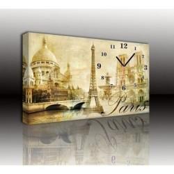 Mykağıtcım Kanvas Saat 30x40 cm - kanvas saat 30-40 (100)