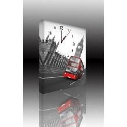Mykağıtcım Kanvas Saat 30x40 cm - kanvas saat 30-40 (110)