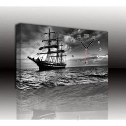 Mykağıtcım Kanvas Saat 30x40 cm - kanvas saat 30-40 (115)