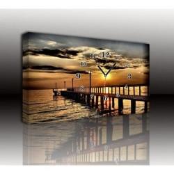 Mykağıtcım Kanvas Saat 30x40 cm - kanvas saat 30-40 (116)