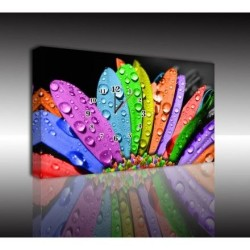 Mykağıtcım Kanvas Saat 30x40 cm - kanvas saat 30-40 (18)
