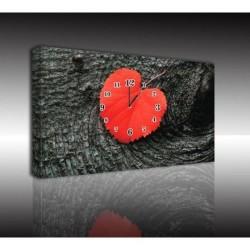 Mykağıtcım Kanvas Saat 30x40 cm - kanvas saat 30-40 (29)