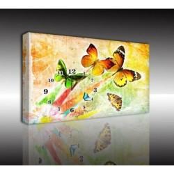 Mykağıtcım Kanvas Saat 30x40 cm - kanvas saat 30-40 (55)