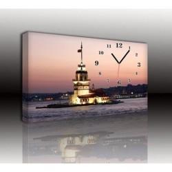Mykağıtcım Kanvas Saat 30x40 cm - kanvas saat 30-40 (83)