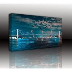 Mykağıtcım Kanvas Saat 30x40 cm - kanvas saat 30-40 (97)