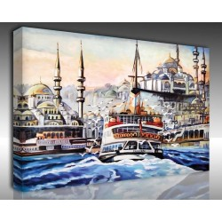 Kanvas Tablo İstanbul - Kanvas Tablo 00594
