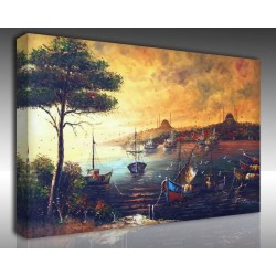 Kanvas Tablo İstanbul - Kanvas Tablo 00595