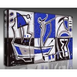 Kanvas Tablo Soyut - Kanvas Tablo 00878