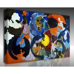 Kanvas Tablo Soyut - Kanvas Tablo 00943
