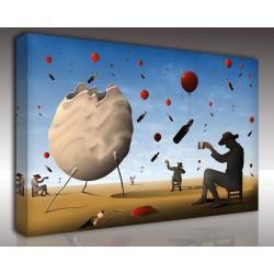 Kanvas Tablo Soyut - Kanvas Tablo 00969