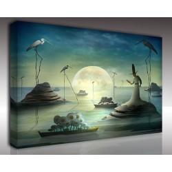 Kanvas Tablo Soyut - Kanvas Tablo 00980