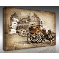 Kanvas Tablo Vintage - Kanvas Tablo 01022