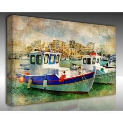Kanvas Tablo Vintage - Kanvas Tablo 01046
