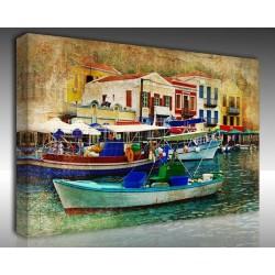 Kanvas Tablo Vintage - Kanvas Tablo 01047