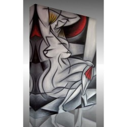 Kanvas Tablo Soyut - Kanvas Tablo 01249