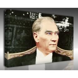 Kanvas Tablo Atatürk - Kanvas Tablo 00114