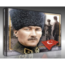 Kanvas Tablo Atatürk - Kanvas Tablo 00112