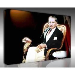 Kanvas Tablo Atatürk - Kanvas Tablo 00109