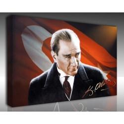 Kanvas Tablo Atatürk - Kanvas Tablo 00092