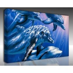 Kanvas Tablo Akvaryum - Kanvas Tablo Akvaryum 10