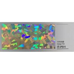 Kointec Hologram - Kointec Kalın Yapışkanlı Folyo ITP511<br>100cmx1mt