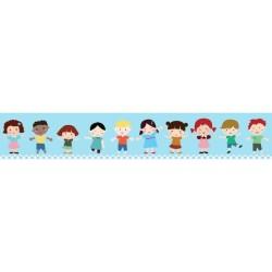 Mykağıtcım Çocuk Bordur 5 mt - my çocuk bordur 300