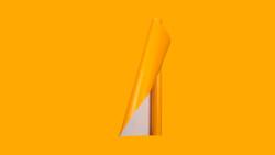 Unifol Plotter Serisi Mat - Unifol Yapışkanlı Folyo Mat 3723 Koyu Sarı