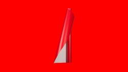 Unifol Plotter Serisi Mat - Unifol Yapışkanlı Folyo Mat 3733 Kırmızı