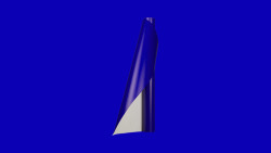 Unifol Plotter Serisi Mat - Unifol Yapışkanlı Folyo Mat 3747 Parlament Mavi