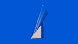 Unifol Plotter Serisi Mat - Unifol Yapışkanlı Folyo Mat 3749 Mavi