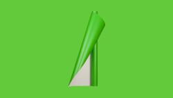 Unifol Plotter Serisi Mat - Unifol Yapışkanlı Folyo Mat 3755 Koyu Fıstık Yeşili