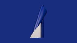 Unifol Plotter Serisi Mat - Unifol Yapışkanlı Folyo Mat 3785 Gece Mavisi