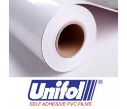 Unifol Plotter Serisi Parlak - Unifol Yapışkanlı Folyo Parlak 3700 Beyaz