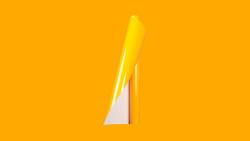 Unifol Plotter Serisi Parlak - Unifol Yapışkanlı Folyo Parlak 3722 Koyu Sarı