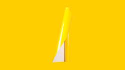 Unifol Plotter Serisi Parlak - Unifol Yapışkanlı Folyo Parlak 3726 Açık Sarı