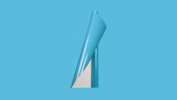 Unifol Plotter Serisi Parlak - Unifol Yapışkanlı Folyo Parlak 3786 Açık Turkuaz
