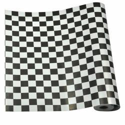 Yapışkanlı Folyo 5590 Siyah Beyaz 45 cm x 1 mt - Thumbnail