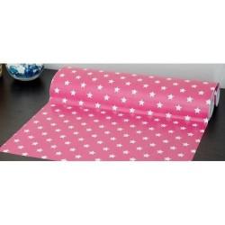Alkor D-c-fix Dekore - Yapışkanlı Folyo Alkor 280-0113 Liberty Pink Pembe Beyaz Yıdız