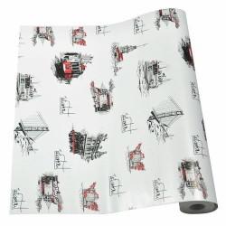 Mykağıtcım Popart Desenli Folyo - Yapışkanlı Folyo AYS002 45 cm x 1 mt