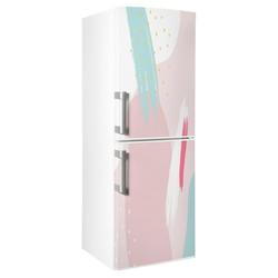 Buzdolabı Kaplama Folyo - Yapışkanlı Folyo Buzdolabı Kaplama Tasarım 0001