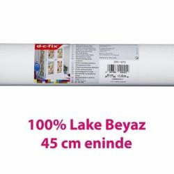 D-C-Fix Düz Renkler - Yapışkanlı Folyo D-C-Fix 200-1273 Lake Parlak Beyaz RAL 9016