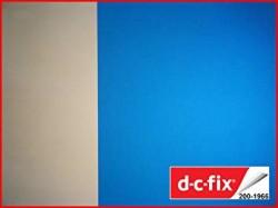 D-C-Fix Cam Vitray Yapışkanlı - Yapışkanlı Folyo D-C-Fix 200-1966 Transparent Uni Blau