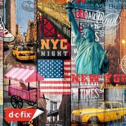 D-C-Fix Designfolie - Yapışkanlı Folyo D-C-Fix 200-3234 Manhatten