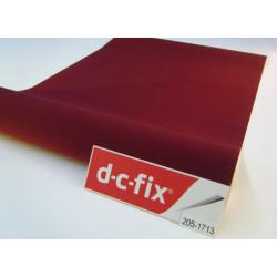 D-C-Fix Kadife Folyo - Yapışkanlı Folyo D-C-Fix 205-1713 Kadife Bordo