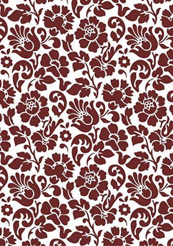 Yapışkanlı Folyo D-C-Fix 346-0598 Barock Bordeaux